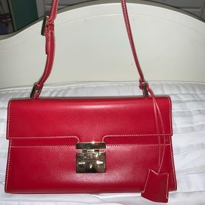 NEW Vintage Red Gucci Purse